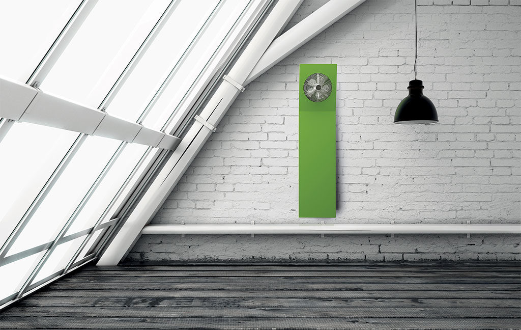 termoarredo ventola verde