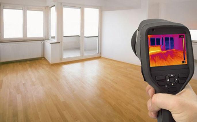 apparecchio termografia casa