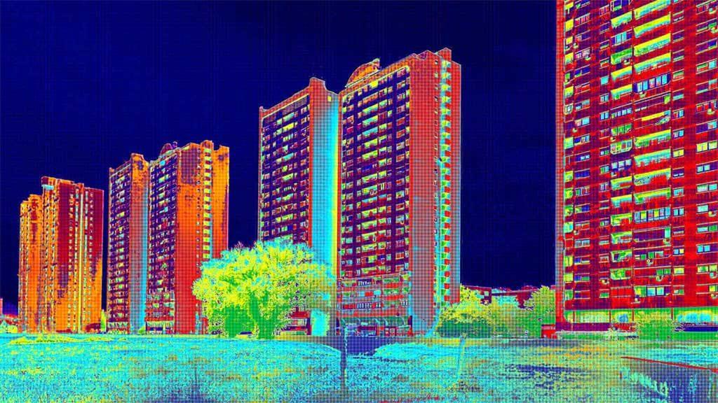 schema termografia edifici