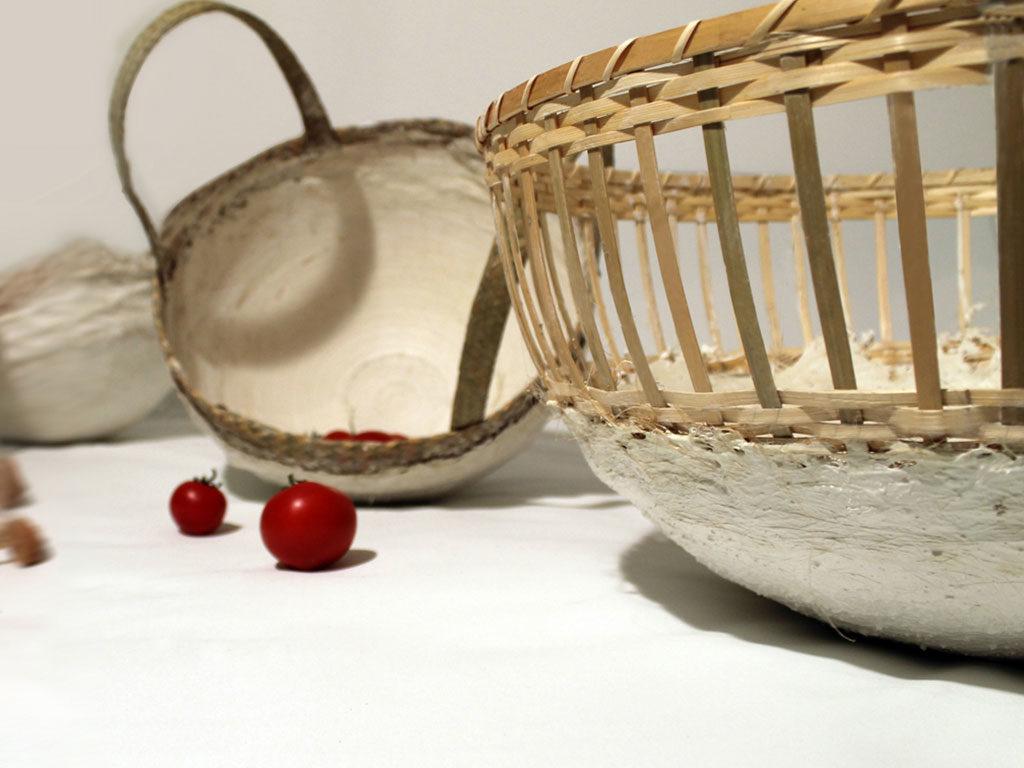 cesti manici fondo ceramica