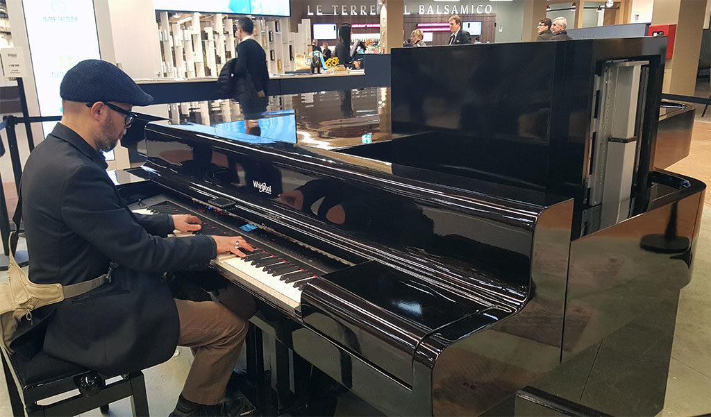 pianoforte a coda suonare