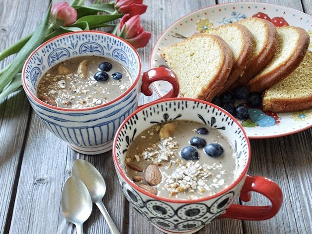 tazze prima colazione pudding