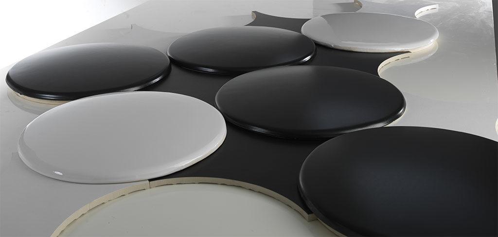 piastrelle rotonde ceramica