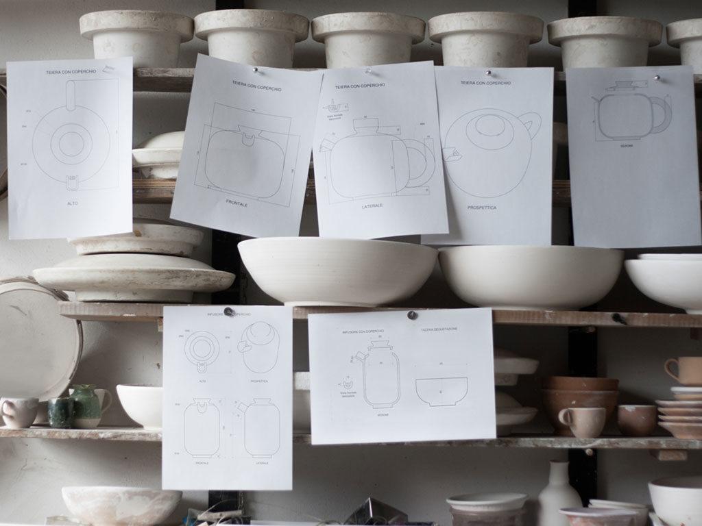 progetti e prove ceramica
