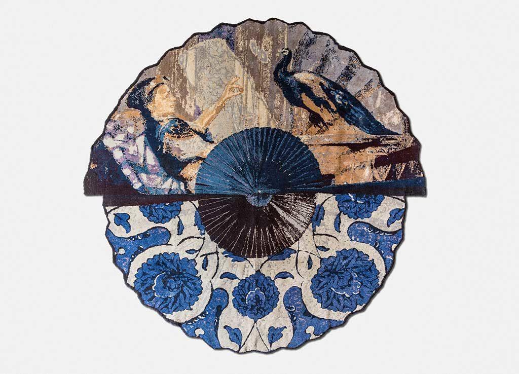 tappeto rotondo disegnato