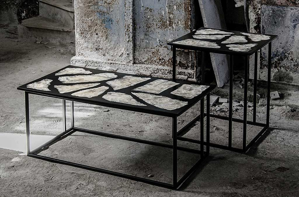 tavolini piano pietra