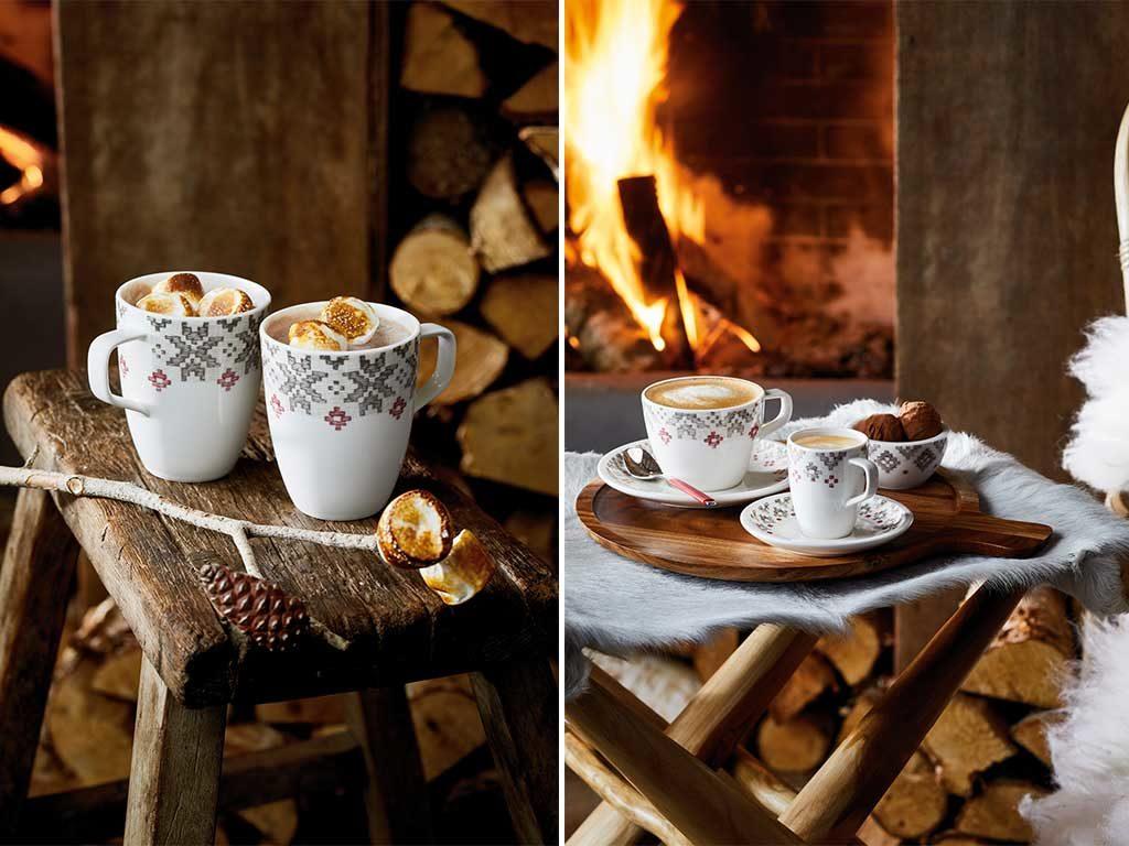 mug e tazze cappuccino caffe