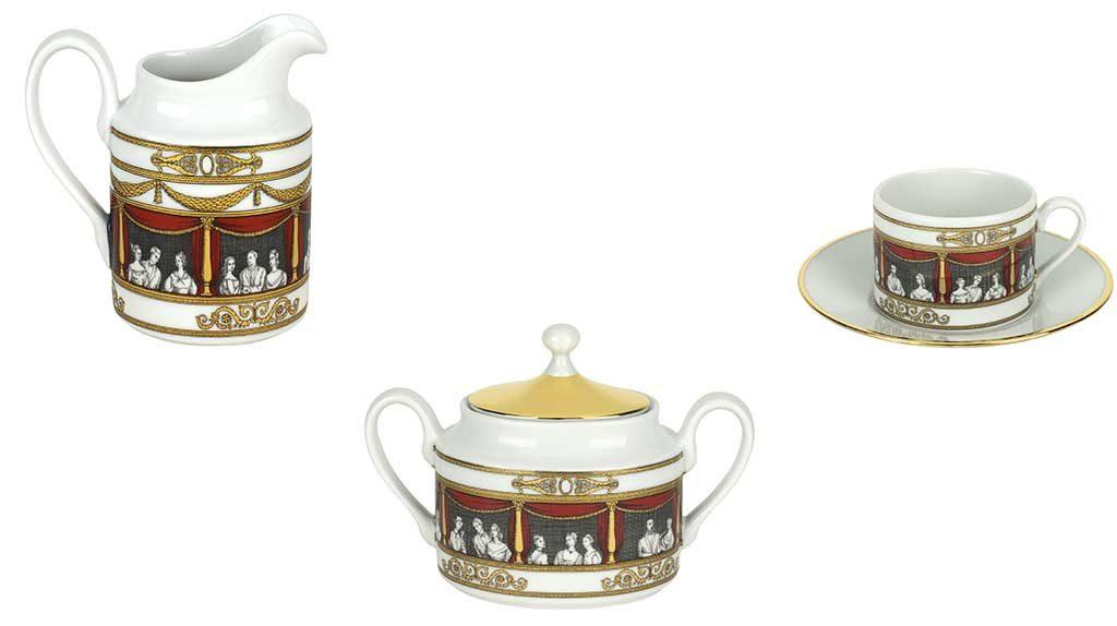 ceramica zuccheriera portalatte tazza