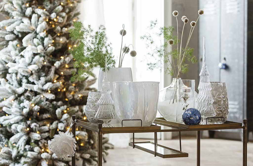 vasi vetro artigianale alberi natale