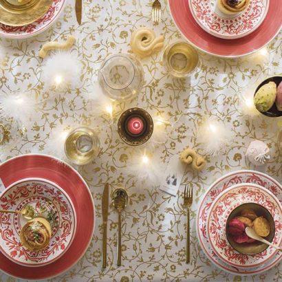 tavola apparecchiata feste