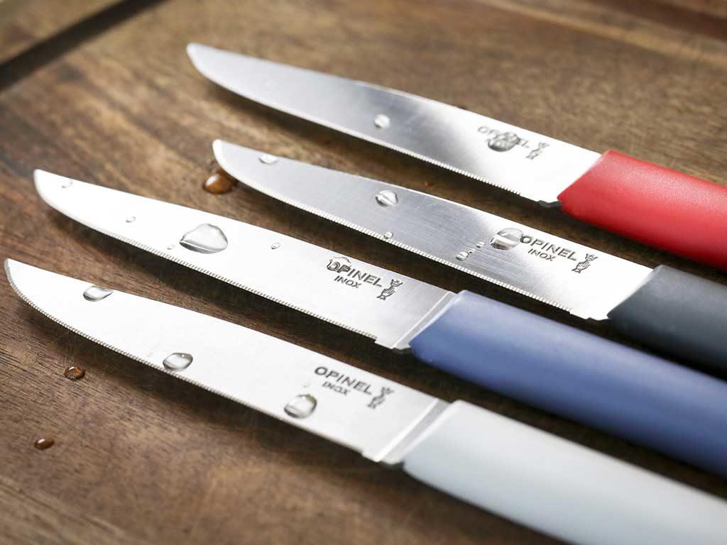 coltelli colorati manico resina