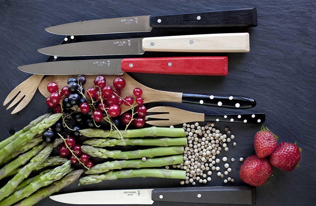 coltelli manico legno