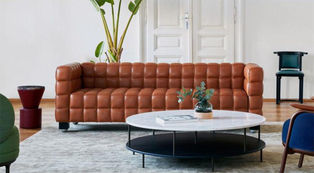 divano pelle marrone hoffmann