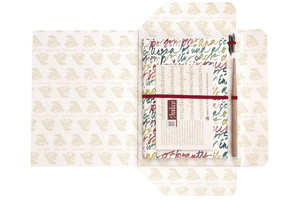 kit scrittura a mano carta