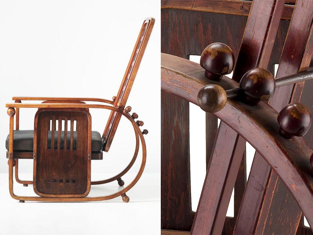 poltrona legno di design