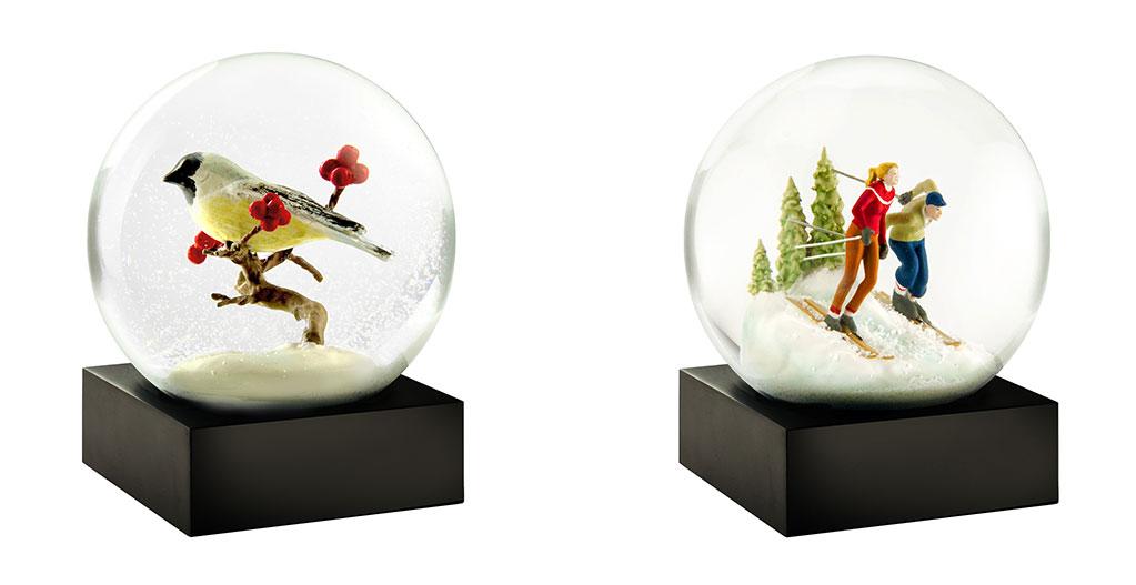 coppia di snowball natale