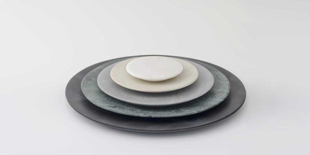 piatti lavorati ceramica design