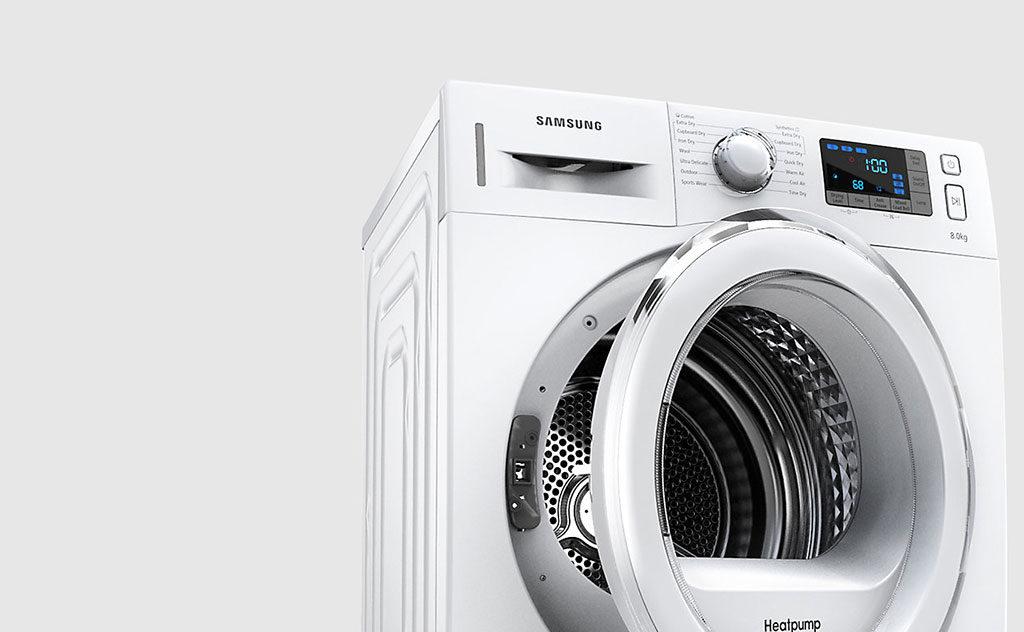 asciugatrice con pompa di calore