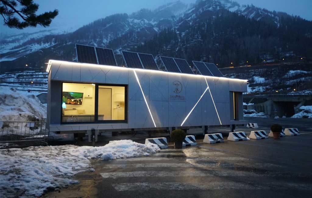 casa autonoma biosphera