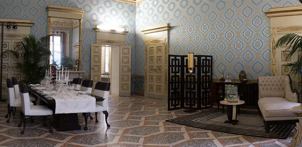 stanza mostra palazzo reale