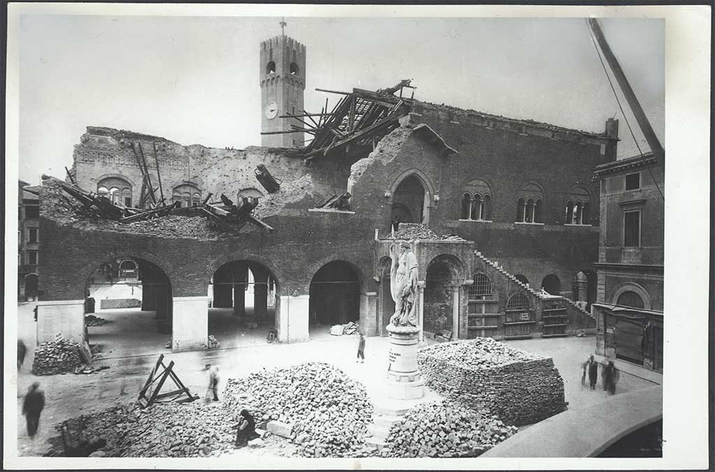 foto bombardamenti treviso