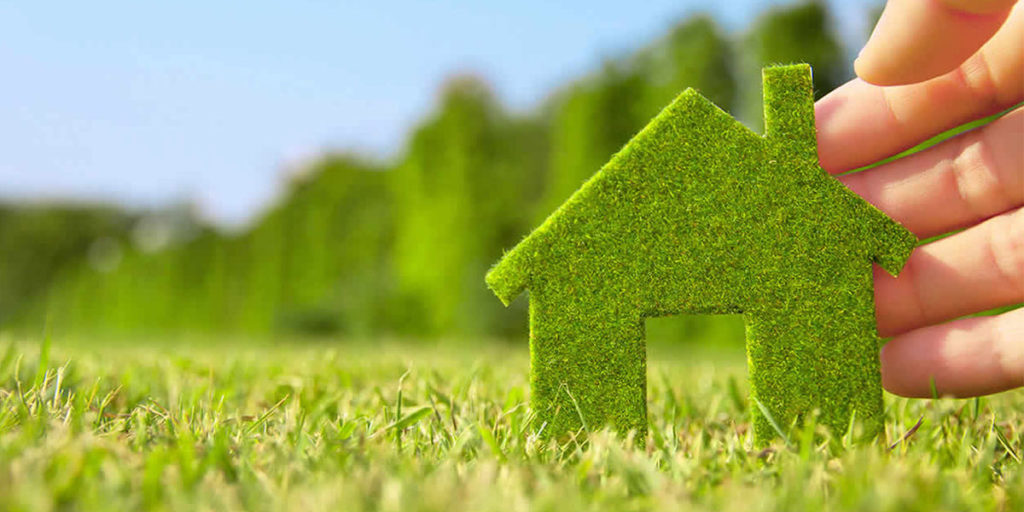 casa green erba mano uomo