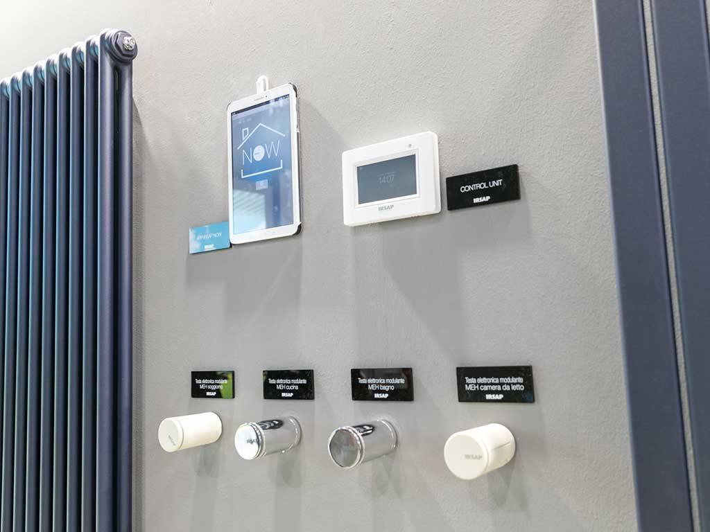 termostati e radiatori manopole