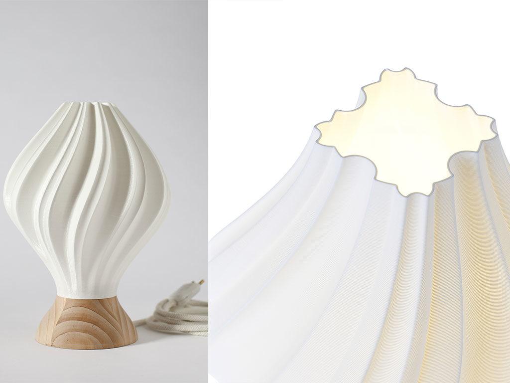 lampada tavolo design 3d