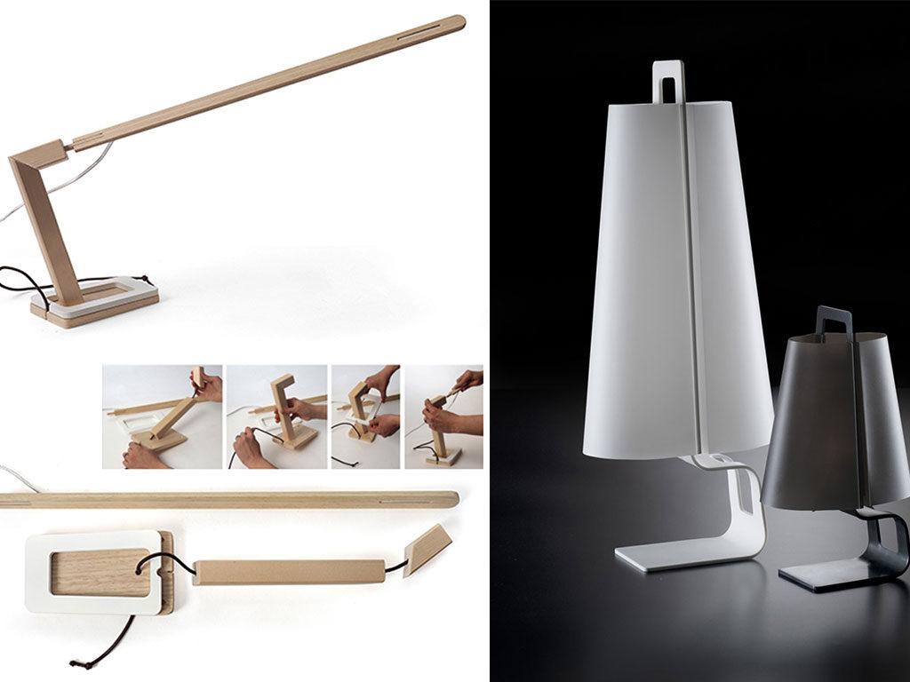 lampade di design legno