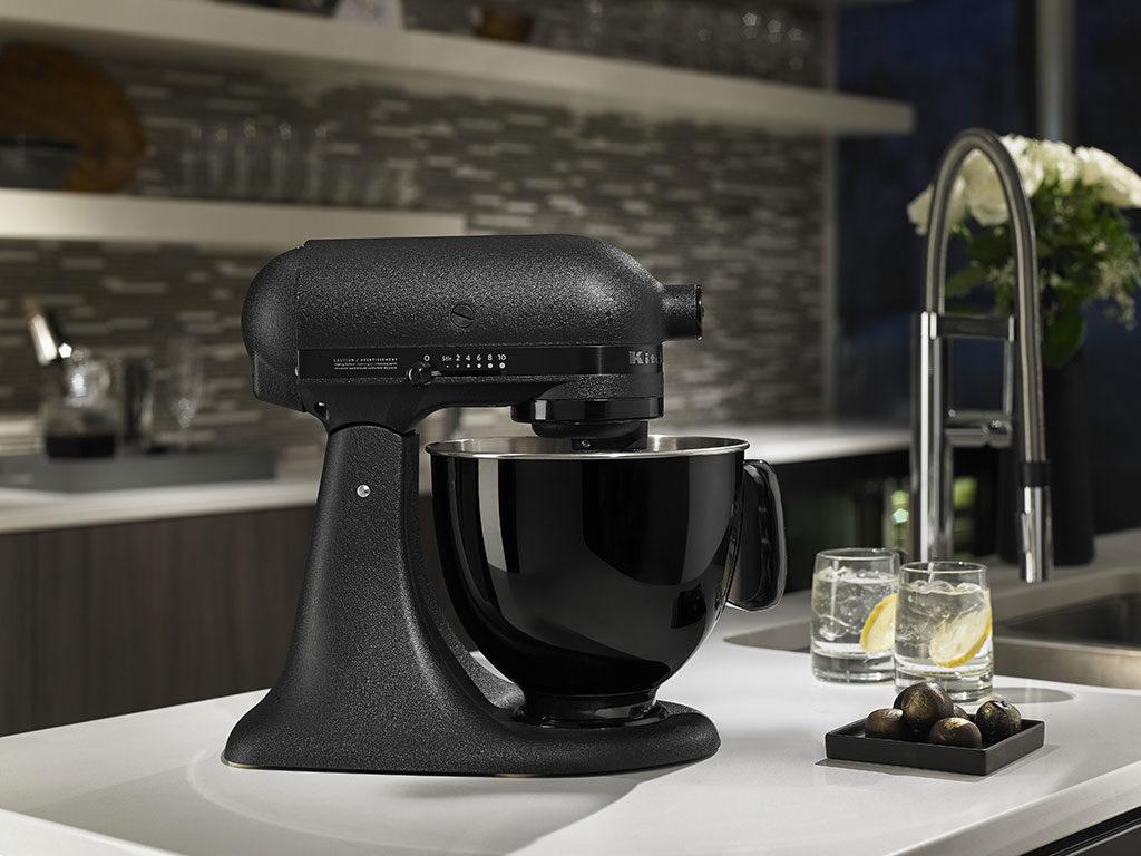 robot da cucina nero