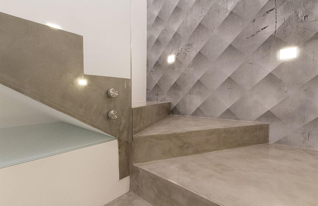 scala acciaio angolare casa