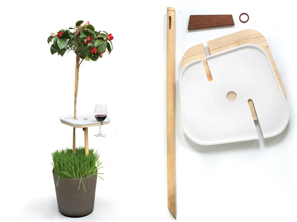 tavolinetto montare da vaso