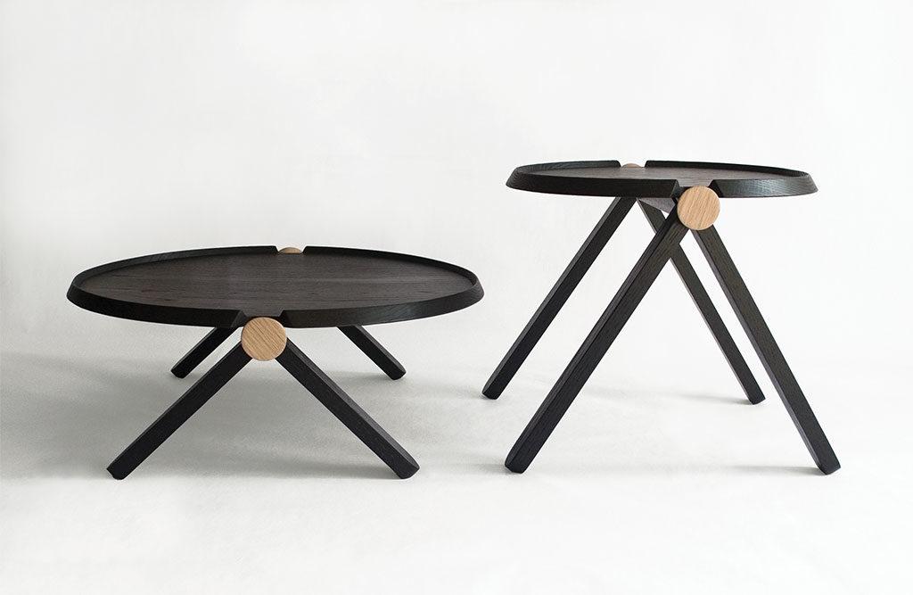 tavolini bassi legno nero