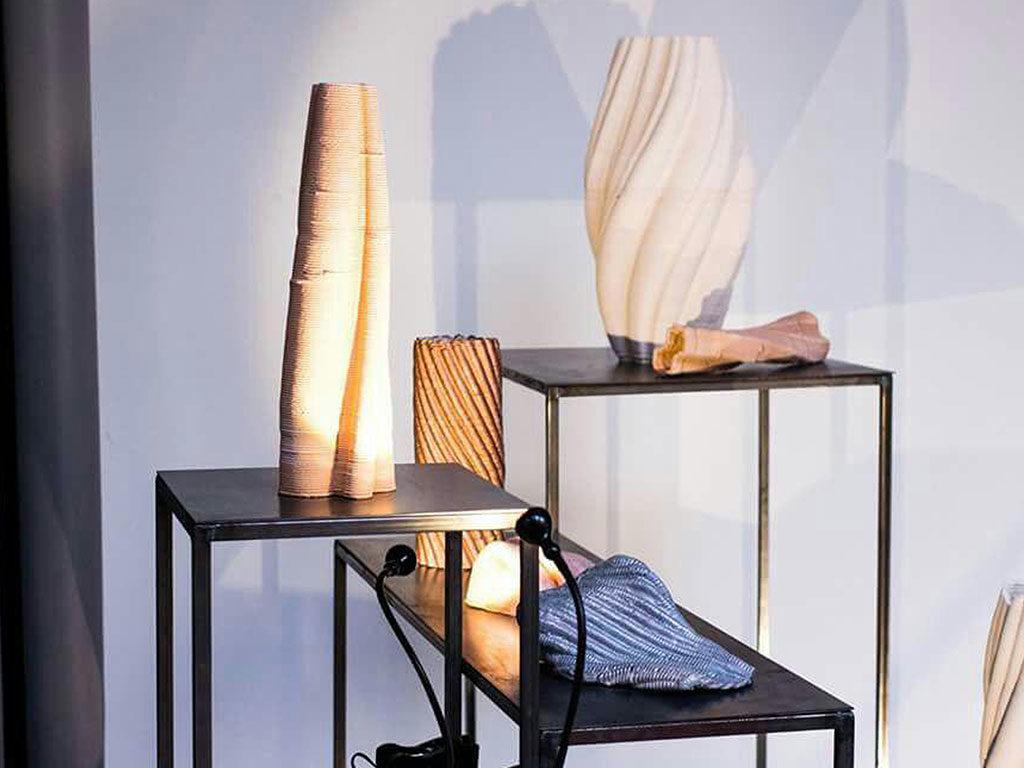 vasi in 3d esposti scaffale