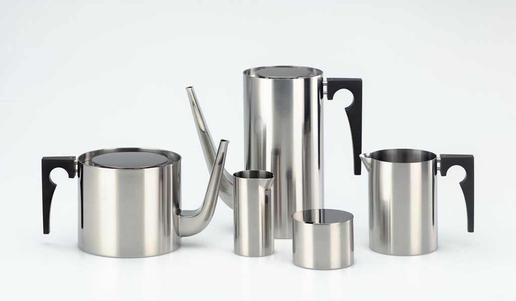caffettiera teiera bricco acciaio