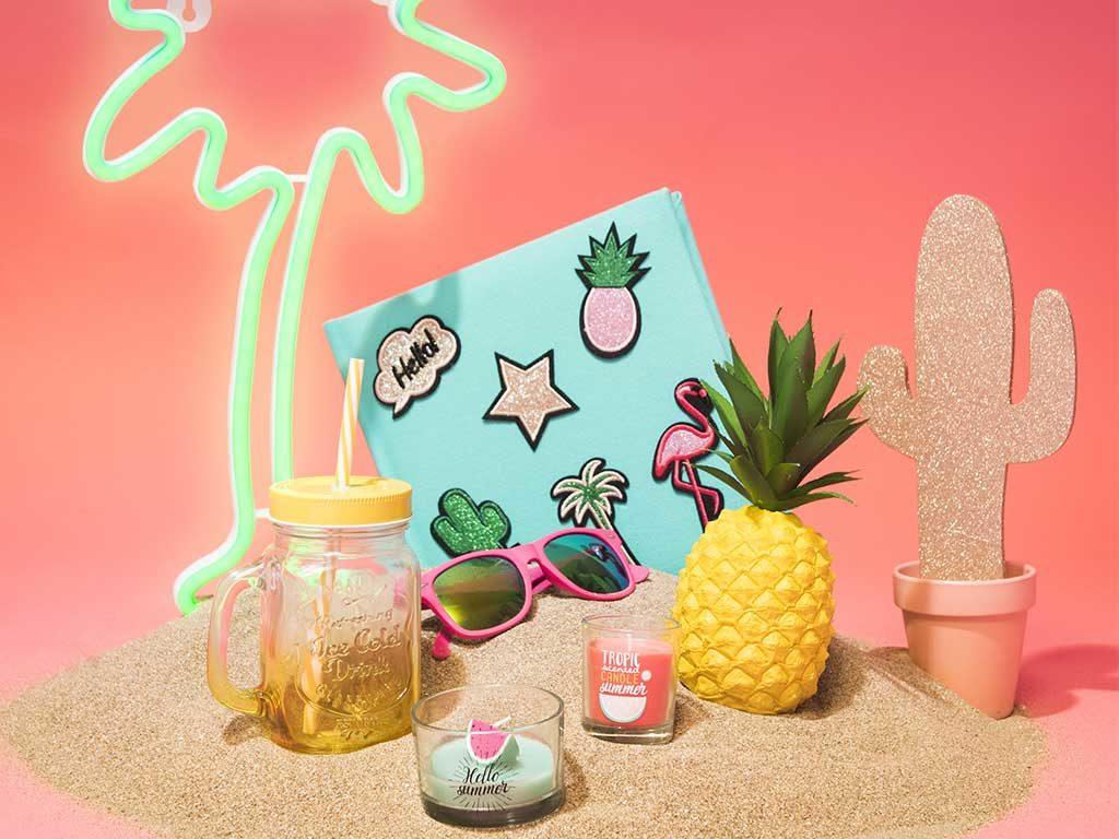 oggetti candele tropical