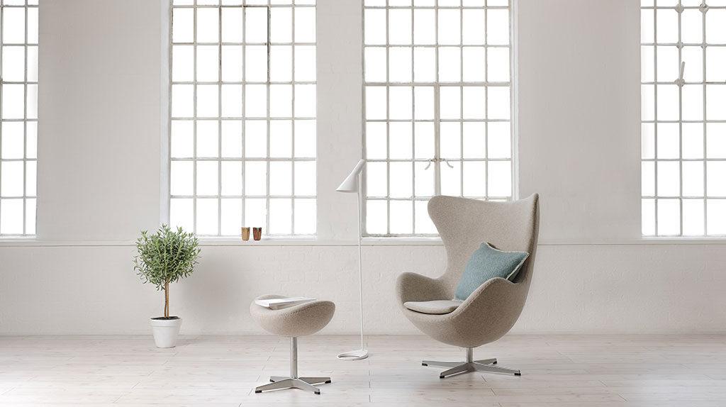 chaise longue tessuto beige