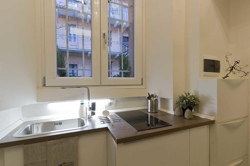 cucina lavello piano angolo cottura