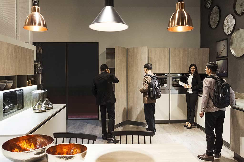 cucina moderna legno