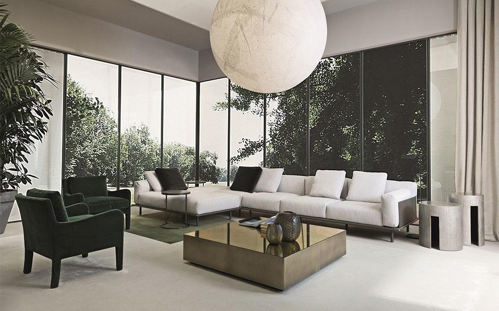 divano modulare salotto