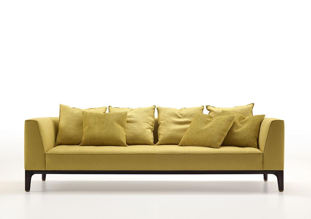 divano colore senape
