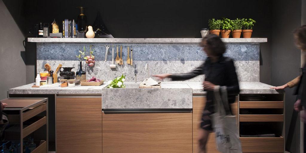 cucina esposta salone mobile