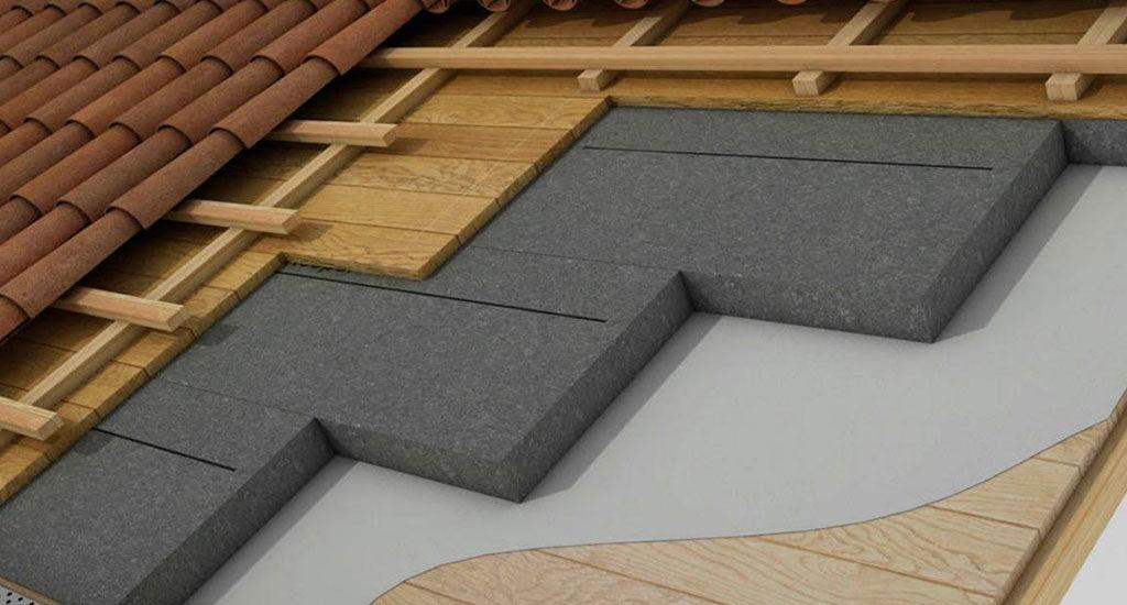 schema isolamento termico tetto