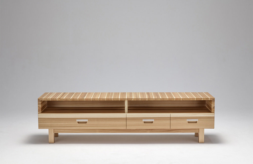 mobile tvo legno basso cedro