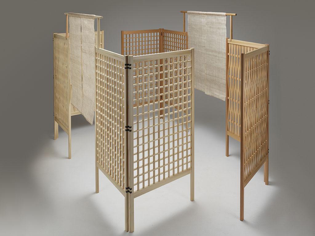 paravento legno gruppo