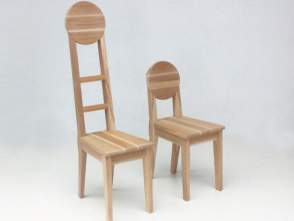 sedie legno artigianale
