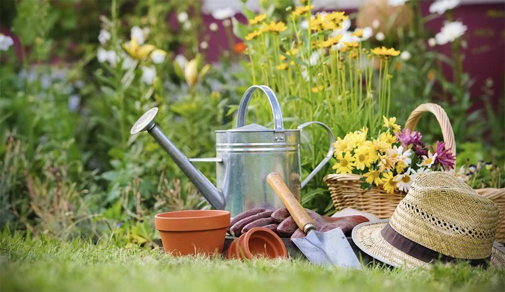 attrezzi giardinaggio cappello