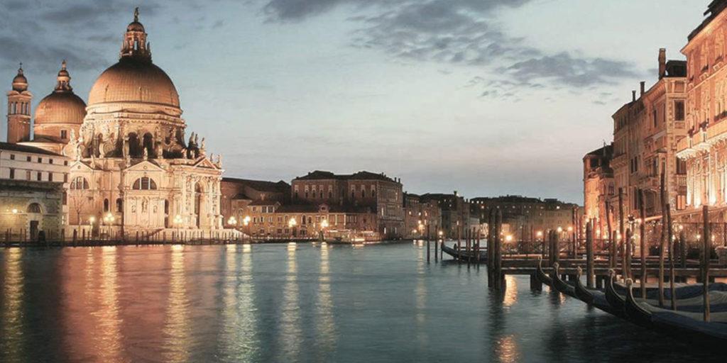 venezia canal grande tramonto