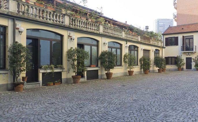 cortile case corte milano