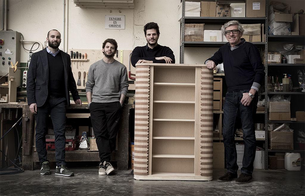 artigiani e designer legno mobile